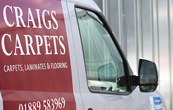 Craigs Carpets Van